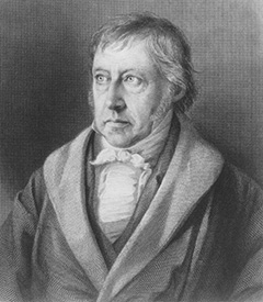 G.W.F. Hegel by Sichling after Sebbers