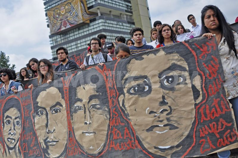 unam students hold massive protest over missing ayotzinapa students 6013130